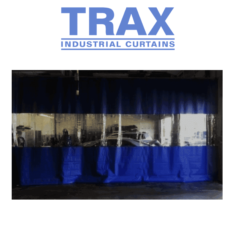 TRAX industrial curtain walls
