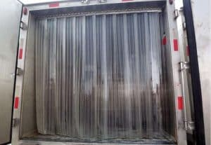 plastic strip curtains cleaning tips