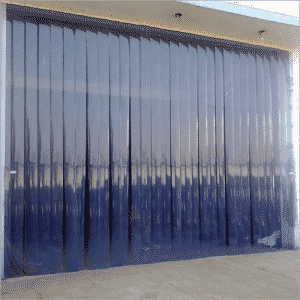 plastic strip door benefits