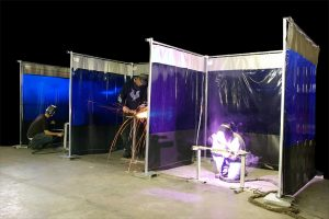 benefits of welding curtains